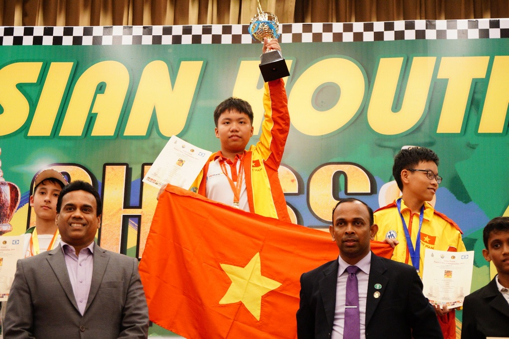 Asian Youth Ches Championship 2019, Nguyen Quoc Hy