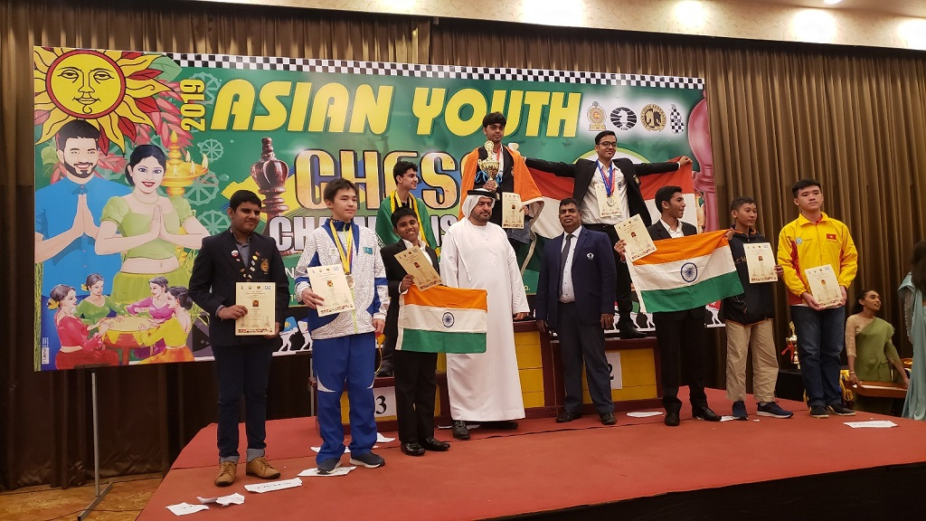 Asian Youth Ches Championship 2019