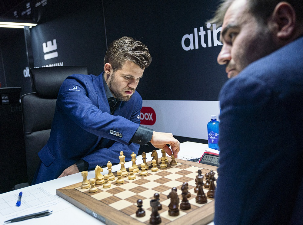 Magnus Carlsen, Shakhriyar Mamedyarov