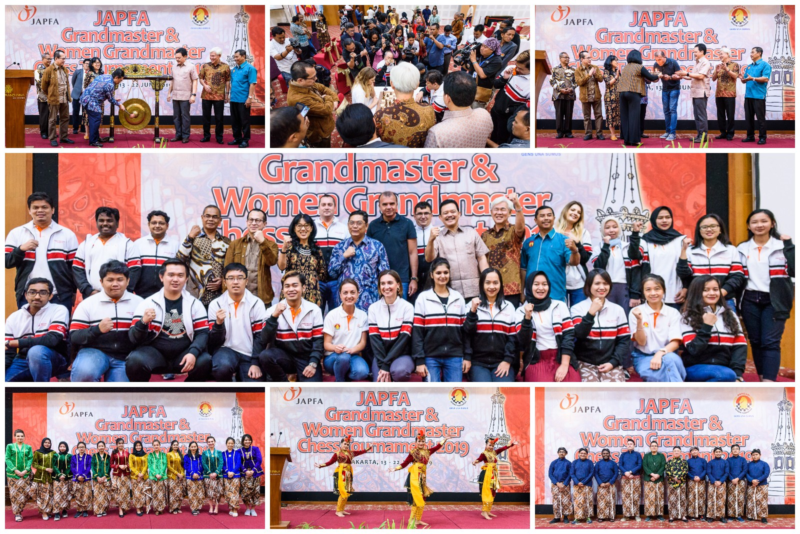 Closing ceremony collage