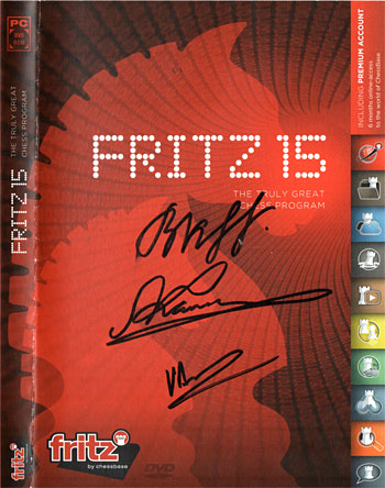 Fritz 15 cover
