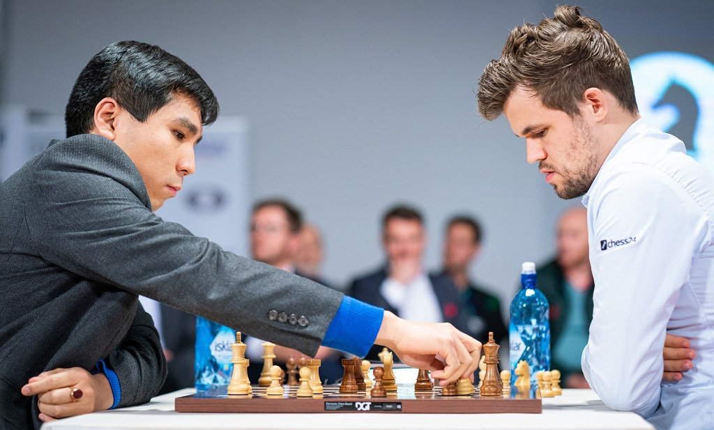 Wesley So, Magnus Carlsen
