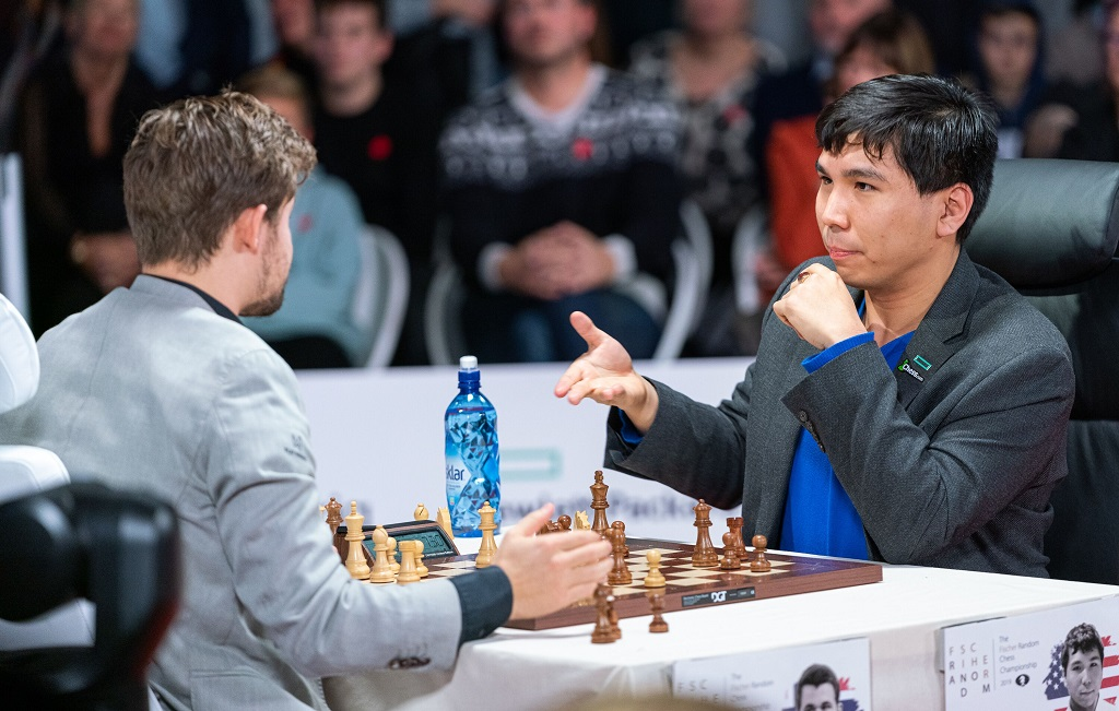 Magnus Carlsen, Wesley So