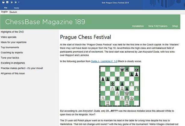 NEW: ChessBase Magazine #189 | ChessBase