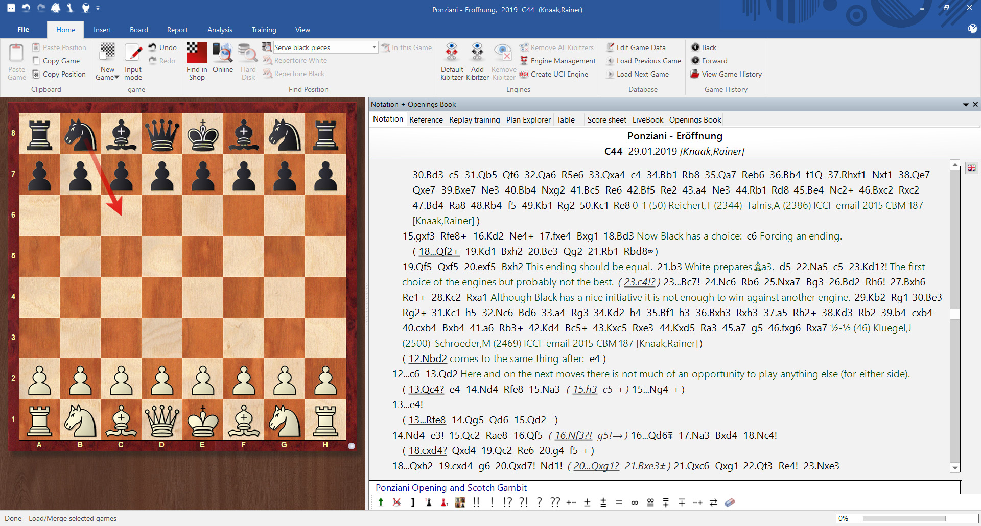 Studying openings with the ChessBase Magazine, II: Creating