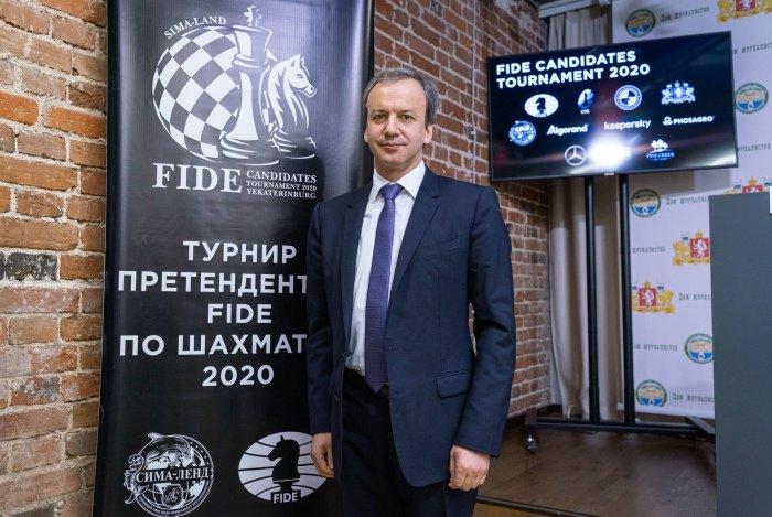 https://en.chessbase.com/portals/all/2020/03/Candidates-Tournament/pressconf/dvorkovich.jpg