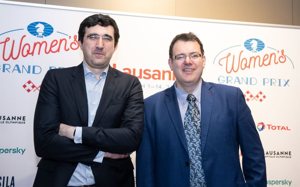 Kramnik and Sutovsky