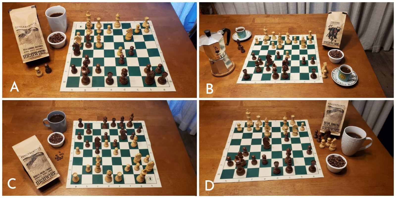Coffee, chess
