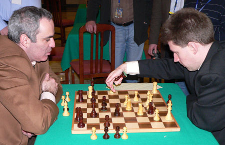 Garry Kasparov, Michael Adams