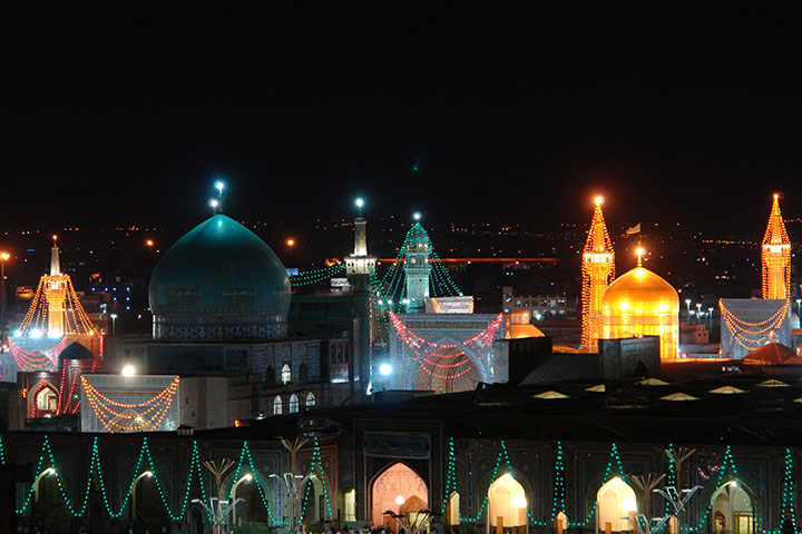 Shrine of Imam Reza
