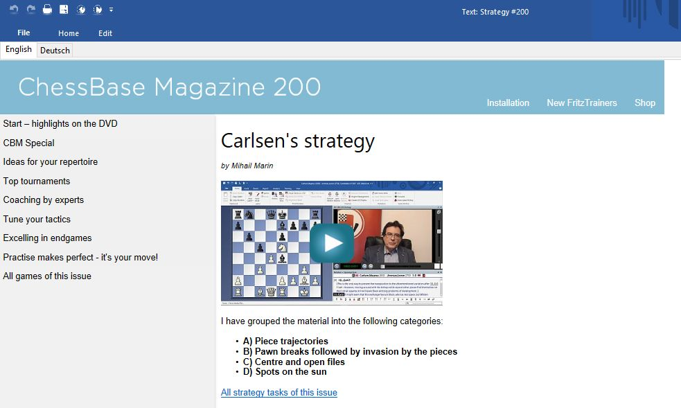 , New: ChessBase Magazine #200, Indian & World Live Breaking News Coverage And Updates