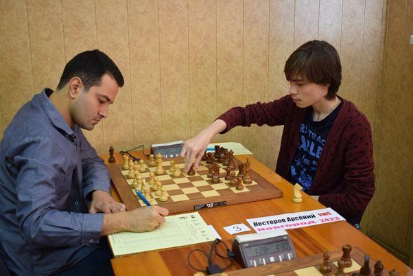 Arseniy Nesterov, Christian Rios