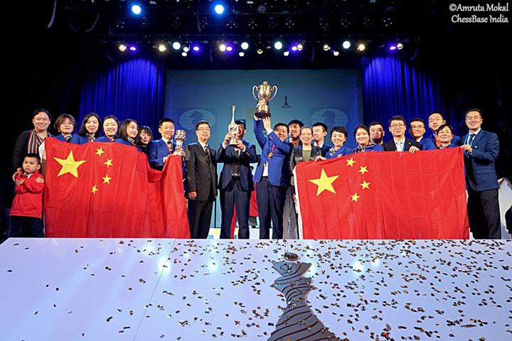 China, chess Olympiad