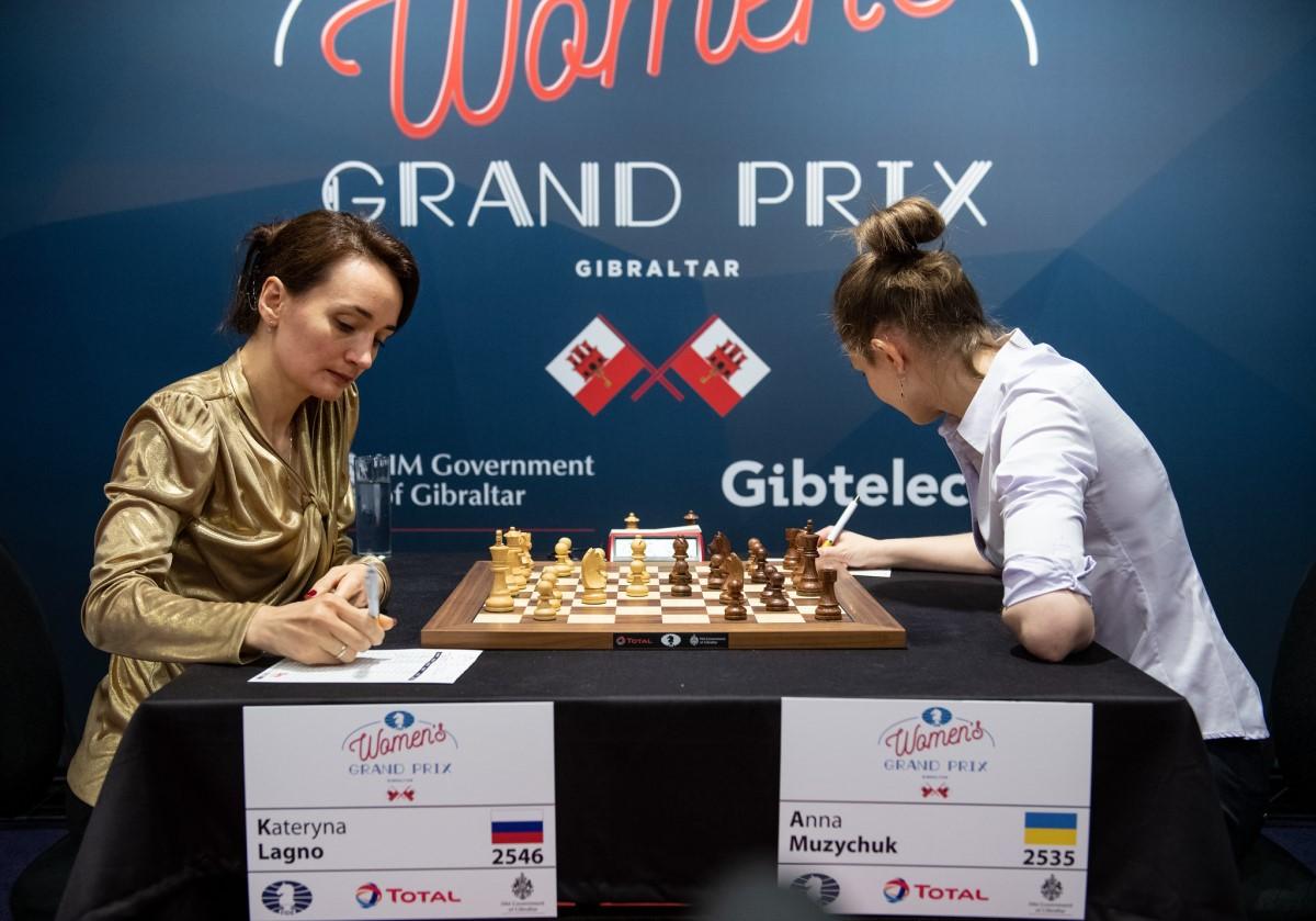 Kateryna Lagno, Anna Muzychuk