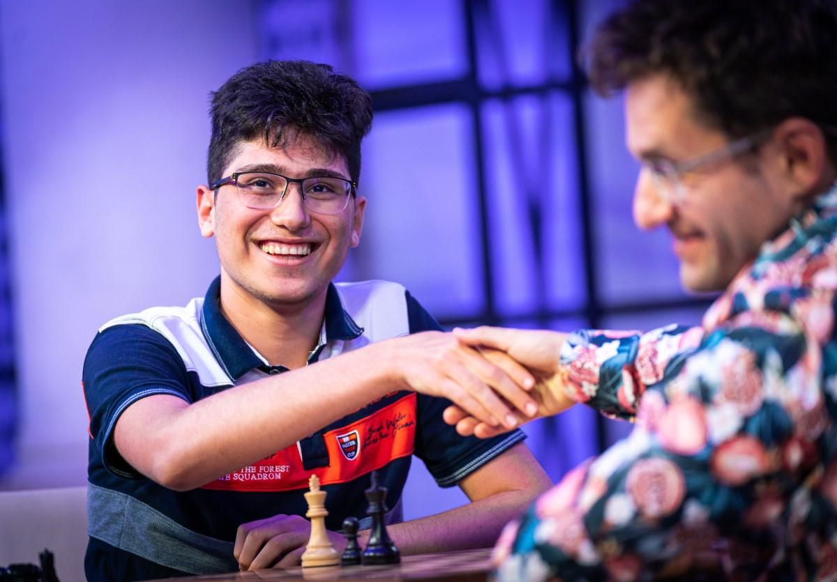 Alireza Firouzja, Levon Aronian