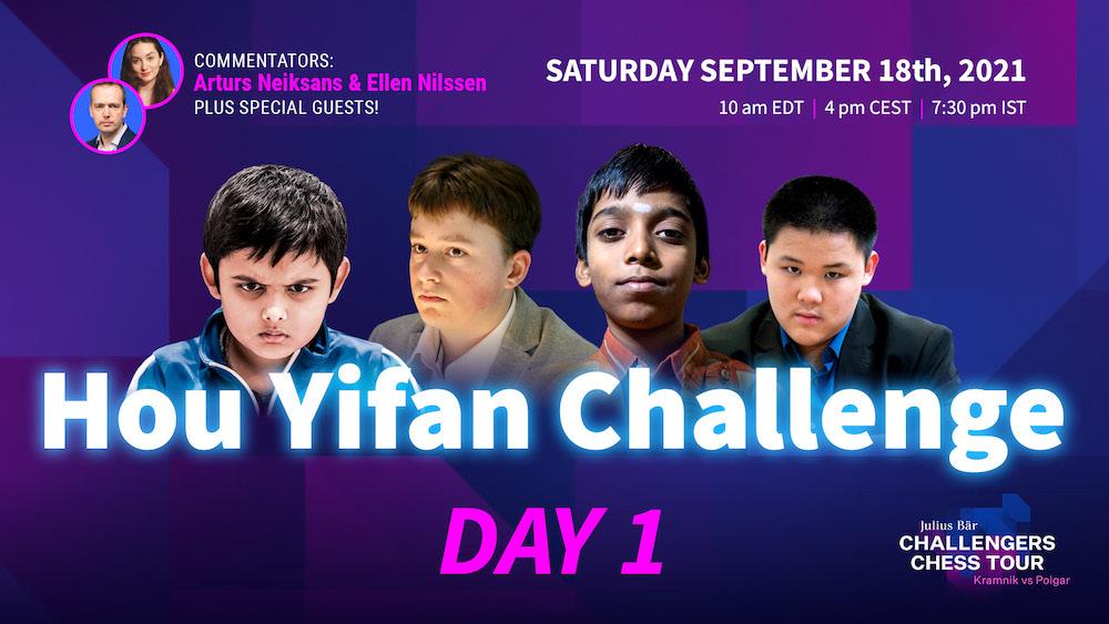 Hou Yifan Challenge 2021
