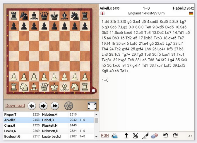 ChessBase Support - Details