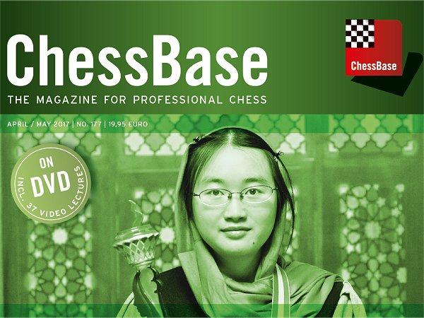 نتیجه تصویری برای ChessBase Magazine 177