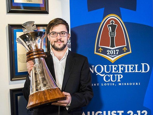 Maxime Vachier-Lagrave ha ganado 15 puntos Elo y ganó la Copa Sinquefield | Foto: Lennart Ootes