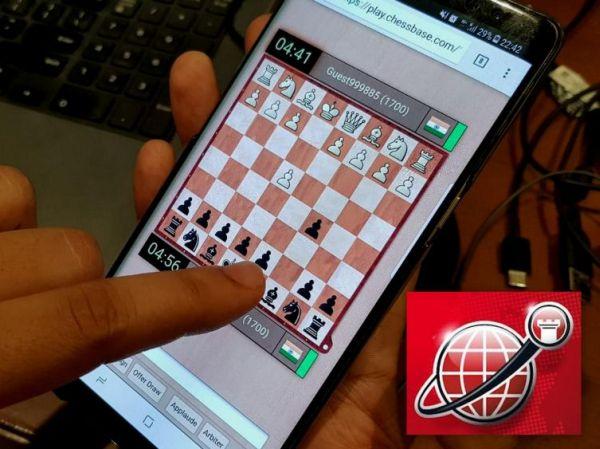 Play the ChessBase India online tournament through your