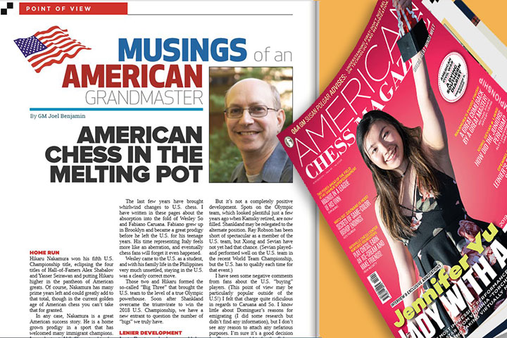 ACM: American chess in the melting pot