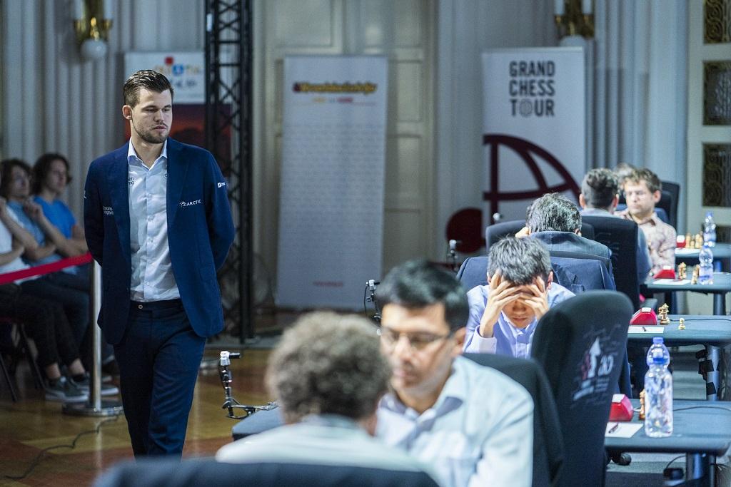 Zagreb GCT: Carlsen's impressive year continues