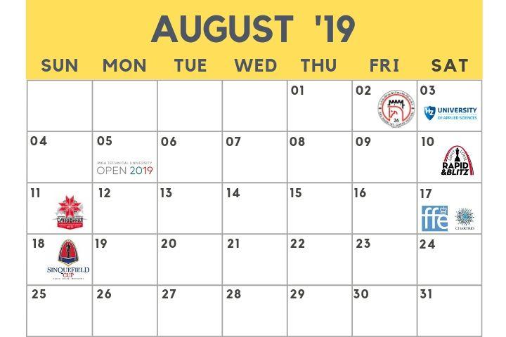 Teilnahmeschluss August 2019 Gewinnspiel