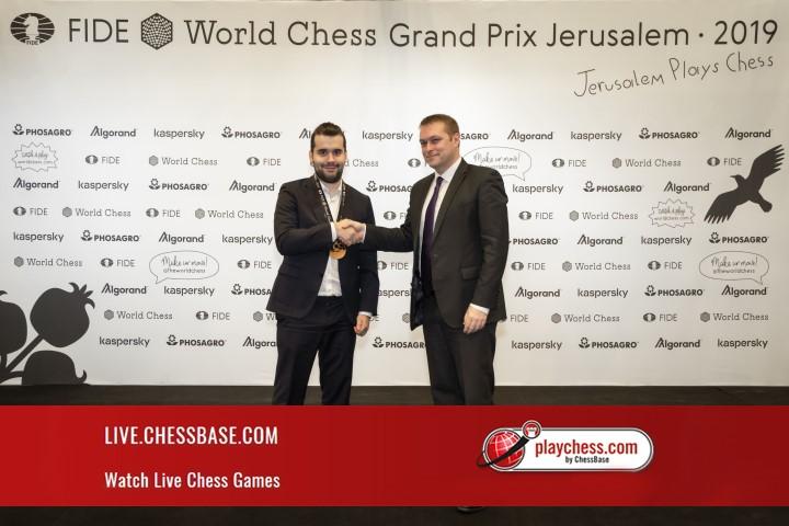 FIDE Grand Prix in Jerusalem LIVE | ChessBase