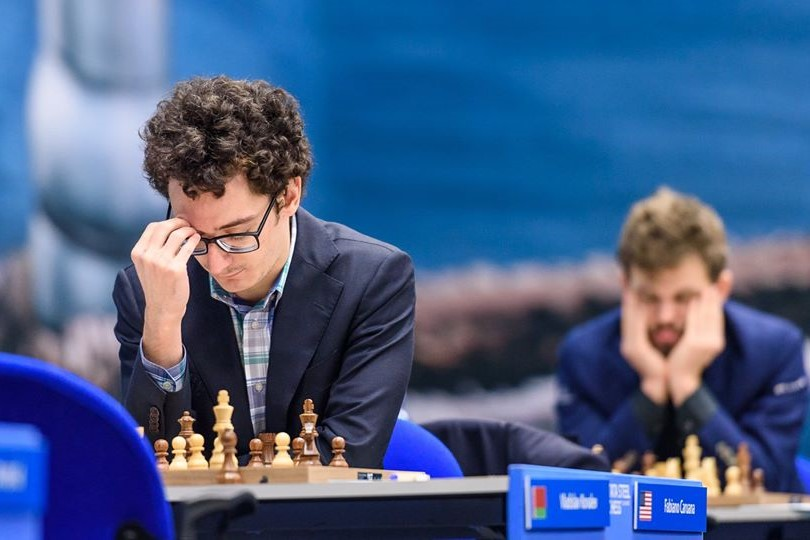 Tata Steel Chess: Caruana a full point ahead