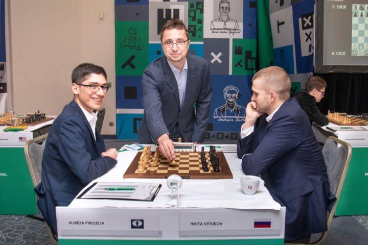 Firouzja's absurd gaffe, Vidit maintains sole lead