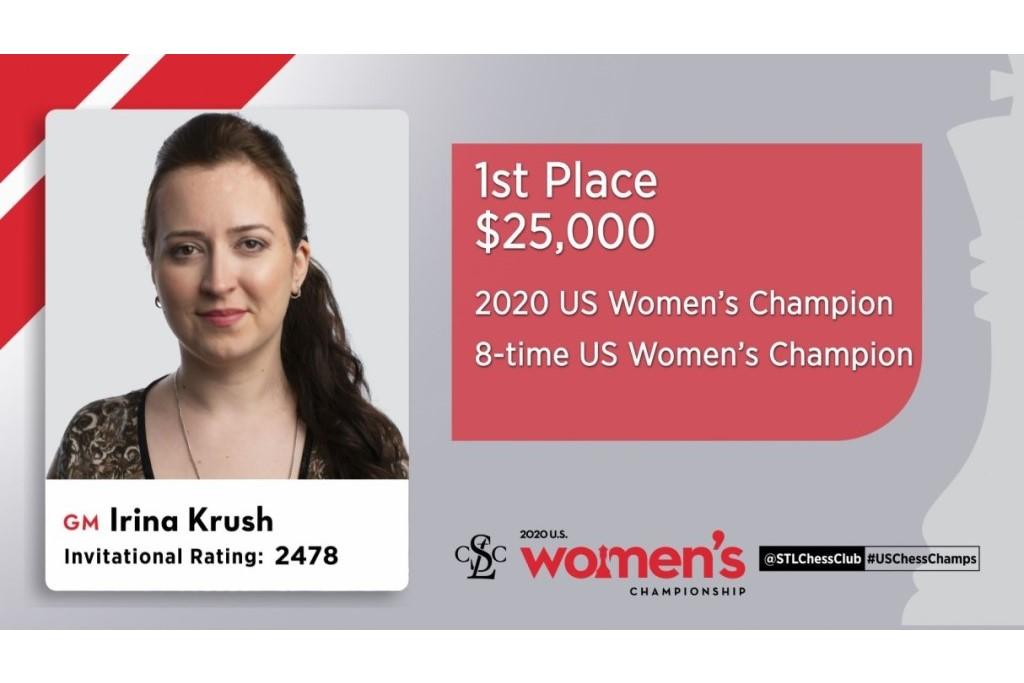 Irina Krush wins her 8th U.S. women's title