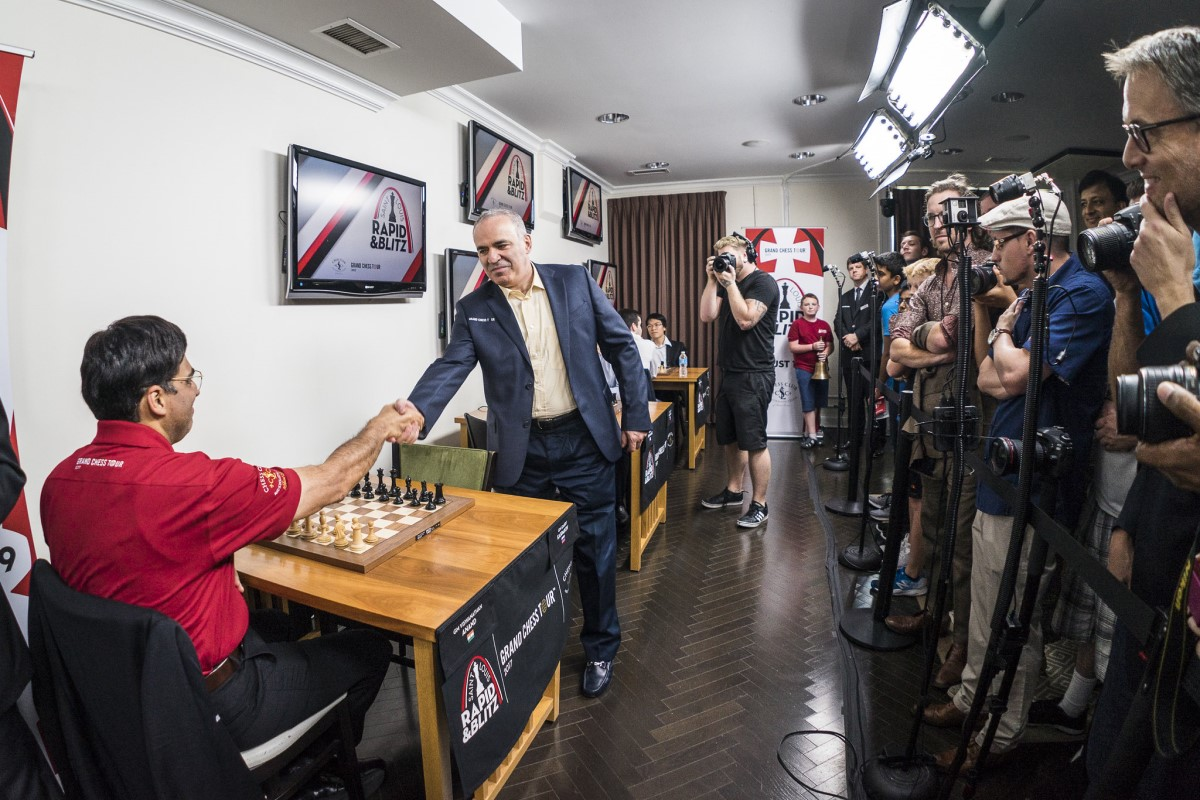 Kasparov and Anand to play in Croatian leg of the Grand Chess Tour
