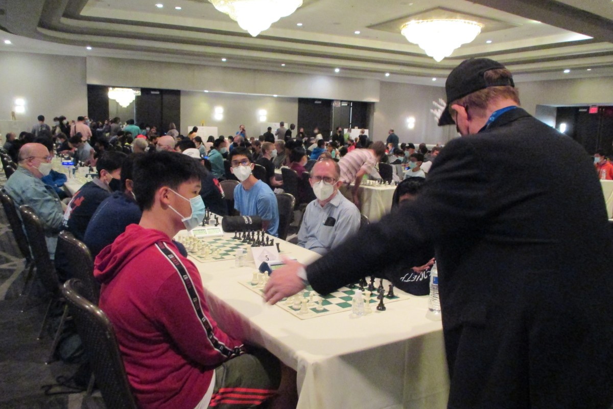 U.S. Open Chess Events: Masked and Spirited