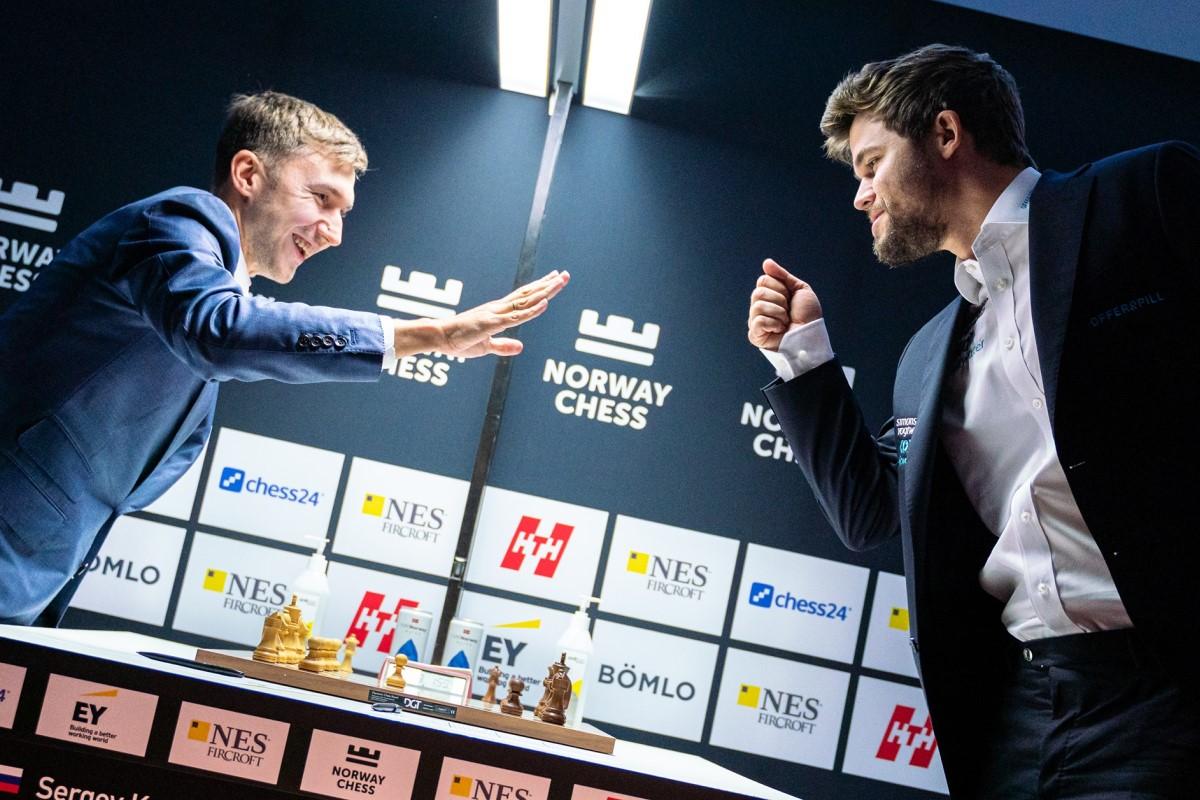 Norway Chess: Karjakin takes down Carlsen