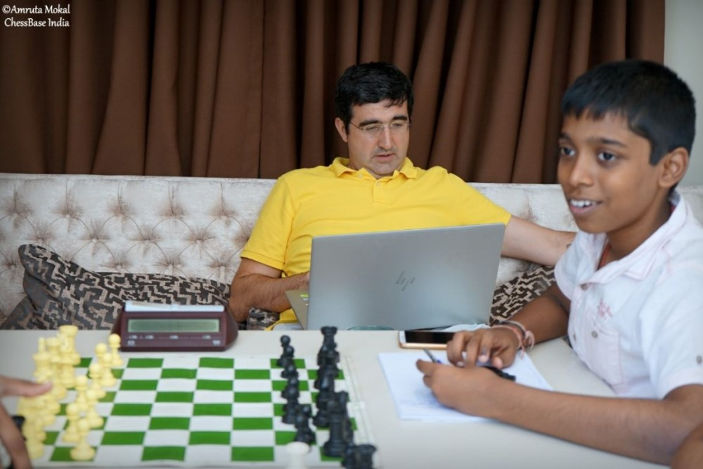 Hou Yifan Challenge: Pragg keeps up the pace