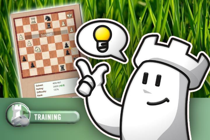 ChessBase Tactics app: Adrenaline Rush