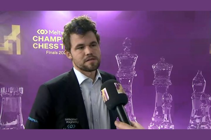 Champions Chess Tour Final, Round 2: Carlsen continues to lead