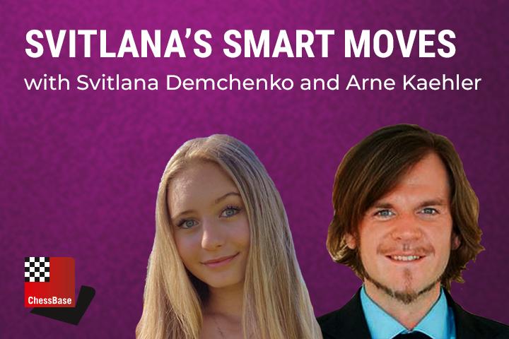 "Svitlana's Smart Moves – ""Material Imbalances"": S. Shankland vs F. Caruana Caruana, St. Louis 2021"
